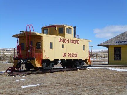 Union Pacific Caboose 903221